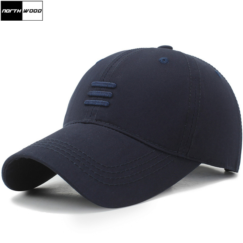 Baseball-Caps Summer Cap Bone-Gorras Dad Hats NORTHWOOD Black Mens Brand Snpback Cotton