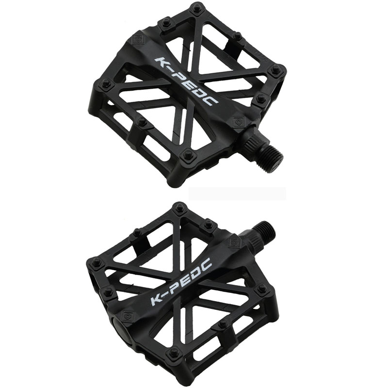 Mountain Bike Bicycle Pedal MTB Road Bike Ultralight Pedals Aluminum Alloy Cycling Seald Bearing Pedal