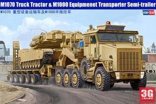Trumpeter  model 85502 US military truck trailer M1070