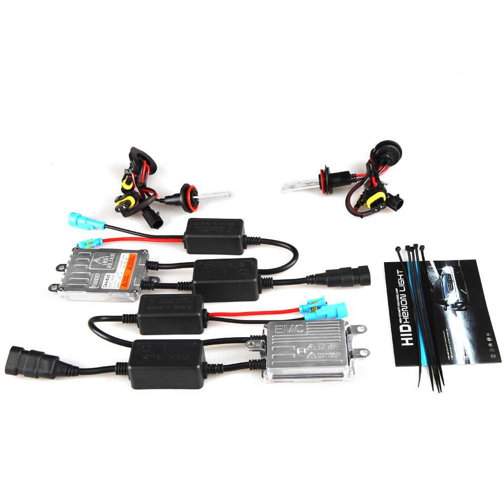 55w HID Xenon Kit Super Canbus H1 H3 H4-3 H7 H11 9005 9006 4300k 5000k 6000k 8000k Canbus HID Headlight No Error Warning canbus error free ac hid xenon conversion kit emc ballast headlights foglights h1 h3 h7 9005 hb3 9006 hb4 h11 4300k 6000k 8000k