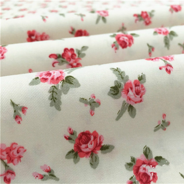 Buulqo 100% cotton twill  flower fabrics for DIY  Sewing textile tecido tissue patchwork bedding quilting 4