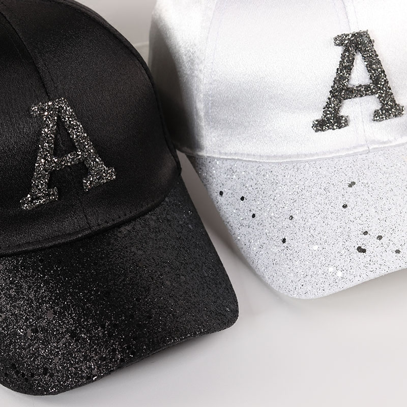 faaa0ca3f0 US $7.59 |Bling Hats For Women 2018 Summer Adjustable Hats With Glitter  Rainstone Ponytail Baseball Cap Snapback Hat Hip Hop Caps Casual-in  Baseball ...