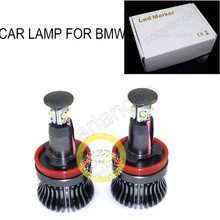 hot sell FOR BMW E92 E93 E70 E71 E82 E89 etc 20W  LED MARKER LED CREE Angel Eyes