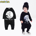 2017 New Style Baby Boy Baby Girl Siamese pajamas cotton long-sleeved Romper Suit Free Shipping
