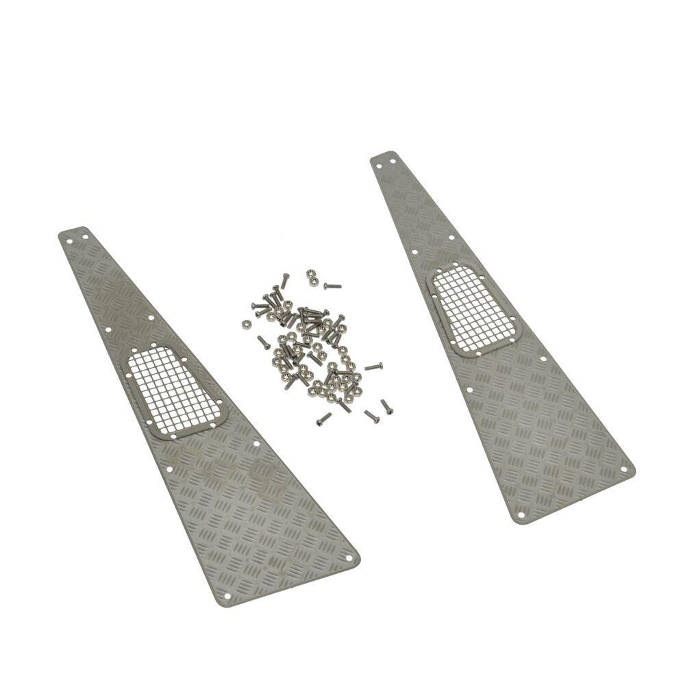 Parrilla de admisión de placa antideslizante de acero inoxidable RC - Juguetes con control remoto - foto 6