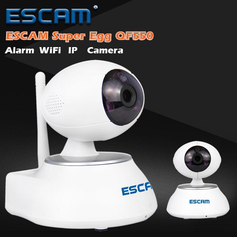 ФОТО Escam HD 720P Wifi IP Camera Alarm CCTV Onvif Webcam Mini Wireless Camera QF550 Anti-fire IR Surveillance Camera Home Security