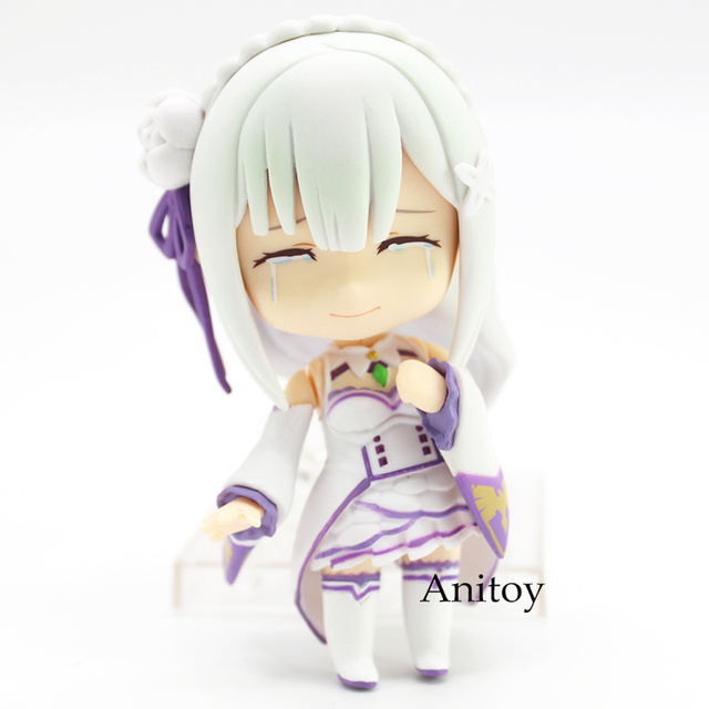 Re:Life in a different world from Zero Emilia 751 Nendoroid Emilia Doll PVC Figure Collectible Model Toy 9cm 2