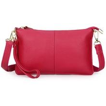 купить New Arrivals Women Leather Handbag Guaranteed Genuine Leather Lady Messenger Bags Hot Brand  Female Shoulder Bag Free Shipping недорого