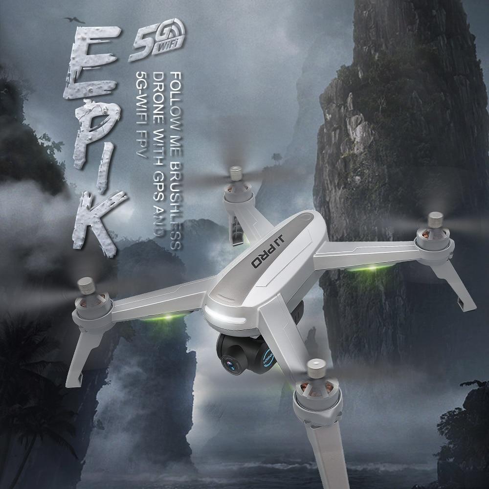 JJRC JJPRO X5 5G WiFi FPV Drone RC Profesional sin escobillas de posicionamiento GPS altitud 1080 p CÁMARA DE interesante sigue en
