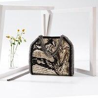 2019 New Fashion Luxury Handbags Women Bags Designer Chain Crossbody Handbag In Women Totes Messenger Bucket Snake Bag Lady