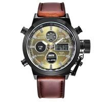 XINEW Watches Men's watch Sports Calendar Alarm LED Military Army Quartz Wristwatch Canvas Clock Hour Waterproof erkek kol saati