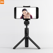 Original xiaomi Foldable Tripod Handheld Selfie Stick MI Bluetooth With Wireless Button Shutter Selfiestick For iPhone Android