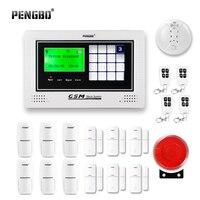 PENGBO Touch Screen GSM Alarm System Intercom Remote Control Autodial Siren Sensor Kit