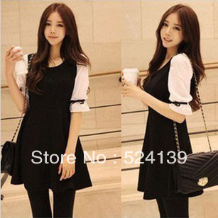 2013 Hot Fashion Spring Autumn Dress Women'dress Noble Dress A-line Dress Free Shipping Y10