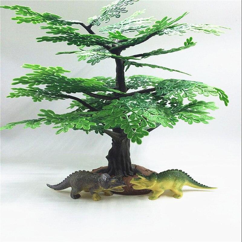 2017 인공 꽃 1pcs 줄기 인공 나무 잎 식물 플라스틱 나뭇 가지 잎 장식 홈 정원 웨딩 장식