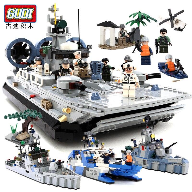 Забавная игрушка для детей блоки, совместимый с legoes подушки лодка, фрегат модели, детская интеллект Образование игрушки блок игрушка ...