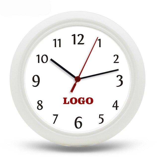 OEM Đồng Hồ Treo Tường DIY 25 cm Thạch Anh Kỹ Thuật Số uhr Nhựa Reloj de sánh wanduhr 10'inch Đồng Hồ Đặt Thương Hiệu Của Riêng Bạn hoặc Logo trên quay số