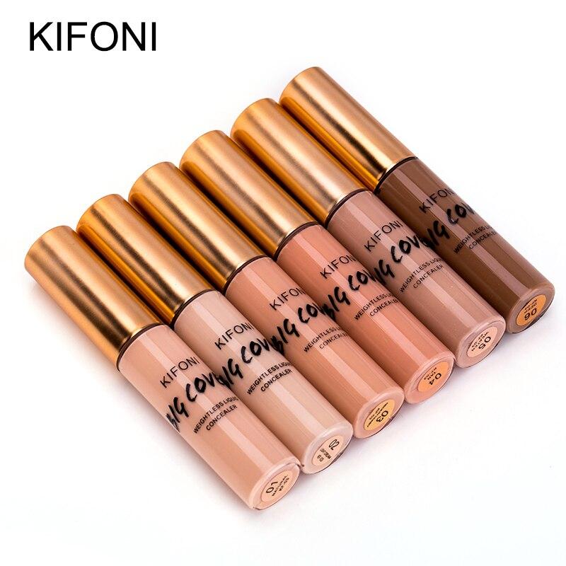 KIFONI New Arrival 6 Color1 Set Makeup  Liquid Concealer Convenient Pro Eye Concealer Cream Face Makeup Corrector For Face Suit