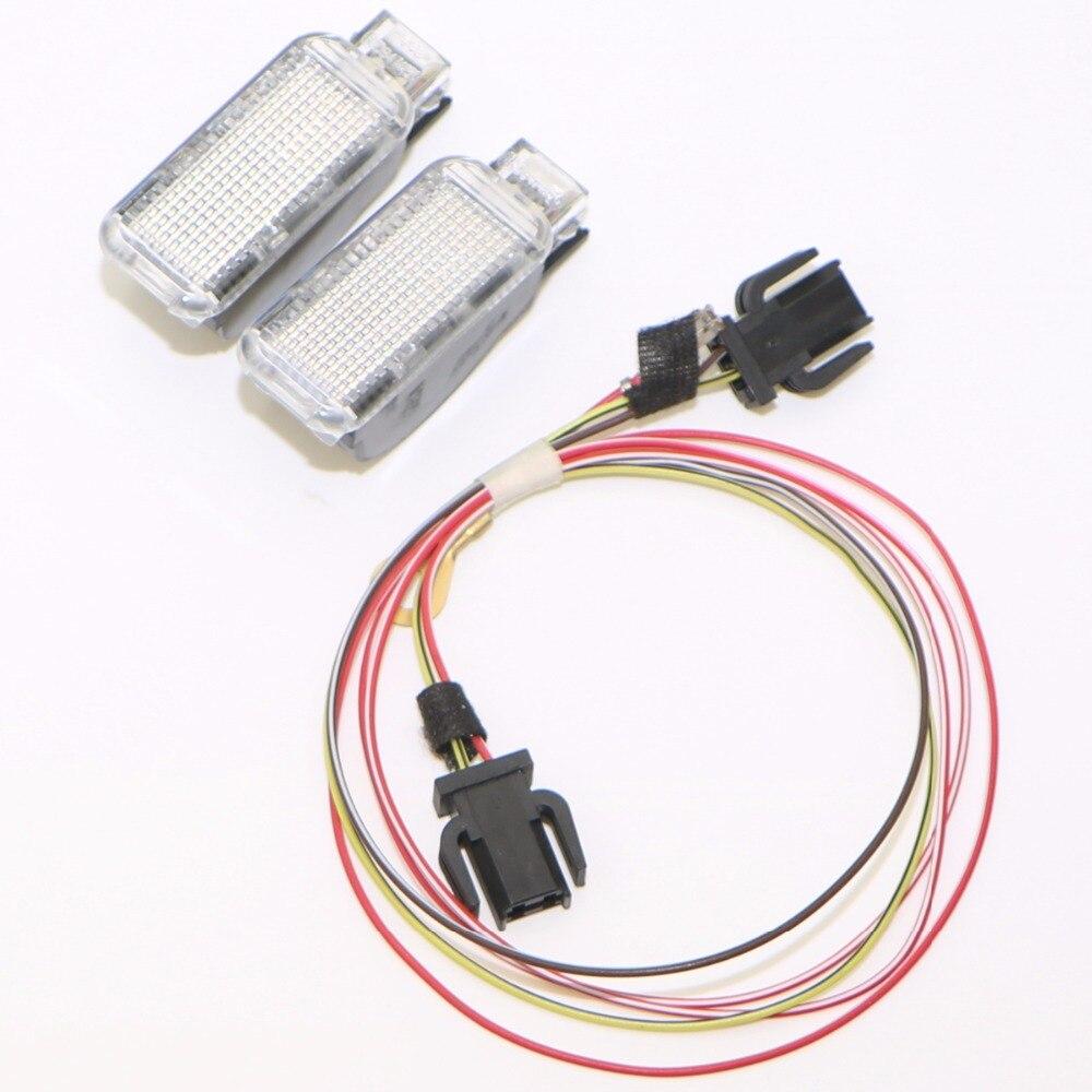 Автомобиля панель задняя дверь багажника сигнальная лампа + кабельная проводка для В3 В5 В7 ТТ А3 А4 А6 шаран Фольксваген Фаэтон сиденья Леон exeo в 8KD 947 415 с