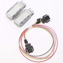 Car Rear Trunk Door Panel Warning Light + Cable Harness For Q3 Q5 Q7 TT A3 A4 A6 VW Sharan Phaeton Seat Leon Exeo 8KD 947 415 C