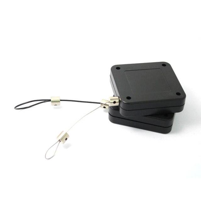 Claite 10pcs 3 meter 개폐식 자동 와이어 풀 박스 테이크 업 박스 HTC VIVE 브래킷 와인 더 VR 헤드 용 도난 방지 케이블
