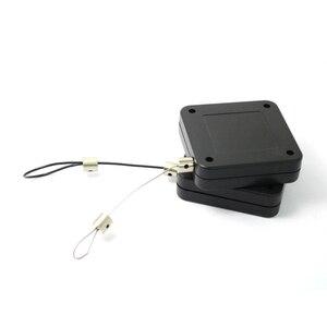 Image 1 - Claite 10pcs 3 מטר נשלף אוטומטי חוט למשוך תיבת לקחת up תיבה נגד גניבה כבל עבור HTC VIVE סוגר המותח VR ראש