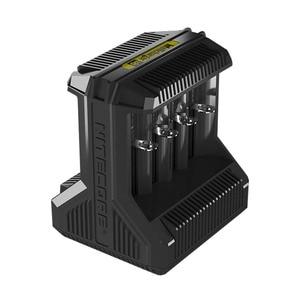 Image 5 - Nitecore i8 インテリジェント充電器 8 スロット 4A 出力スマートバッテリ充電 IMR18650 16340/10440 aa aaa 14500 26650 車の充電 c2
