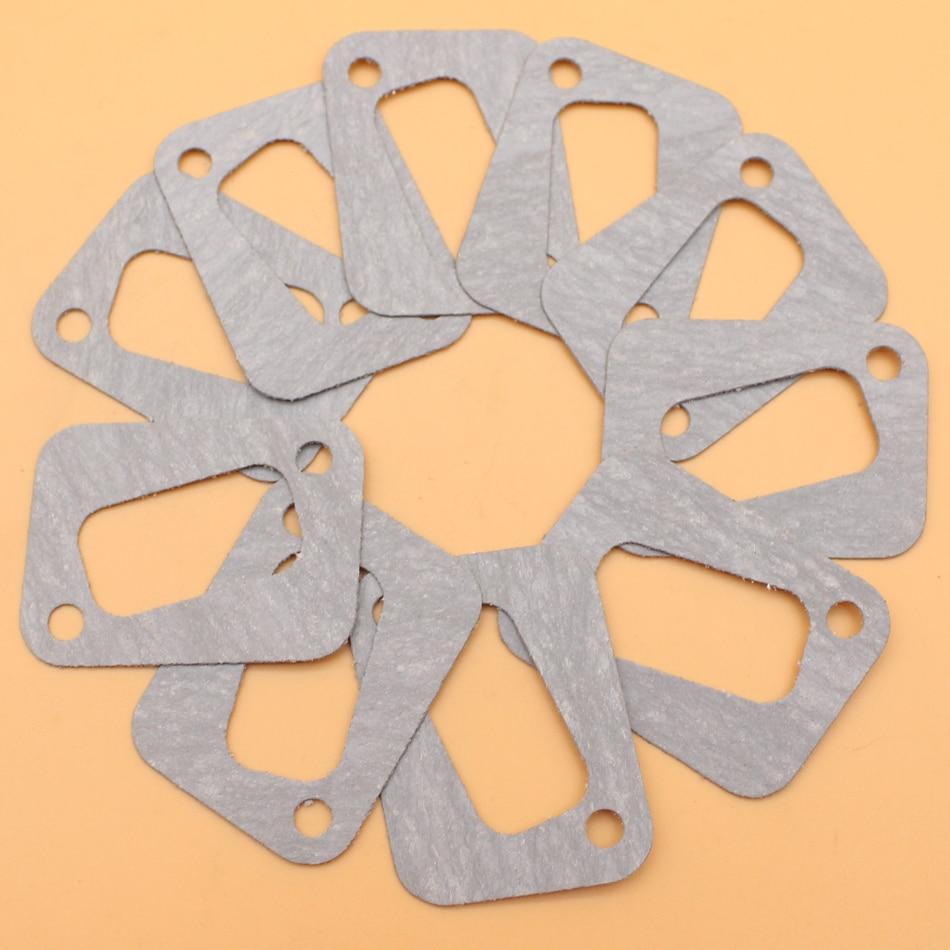 10Pcs/lot Exhaust Muffler Gasket Kit For Husqvarna 340 345 346 350 351 353 Chainsaw 503 86 25-01 / 503 86 25-01