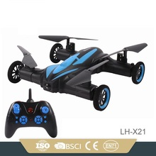 2 4G 6CH 6axis LH X21 rc flying car with camera rc drone with WIFI FPV