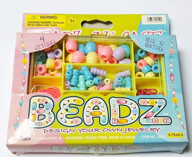 Diy Bead Box Jewelry Instruction On Box Bracelet Girl Kids Princess