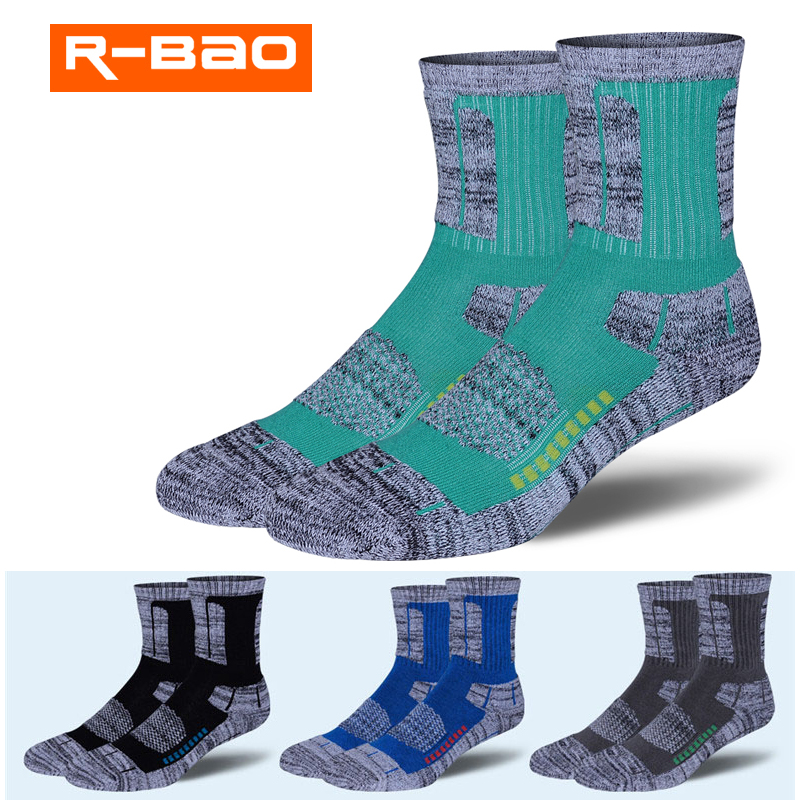 Outdoor Mountaineering Skiing for Men Women in All Seasons Comfortable Wear-resistant Elastic Soft Compression Hiking Socks