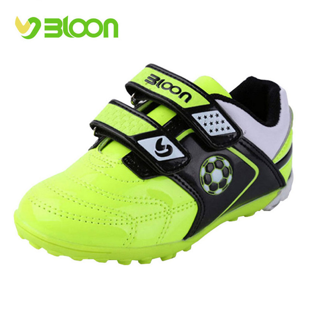 ea4a0cc6f068 BLOON Boys Soccer shoes Sneakers Children Kids Indoor Football Shoes Sport  soccer boots for Girls Boys Kids Football Hall