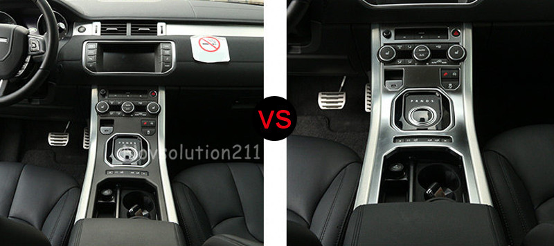 2011-2016 Protect Gear Box Panel Cover Trim For Range Rover Evoque carbon fiber style abs plastic for land rover range rover evoque 12 17 center console gear panel decorative cover trim newest