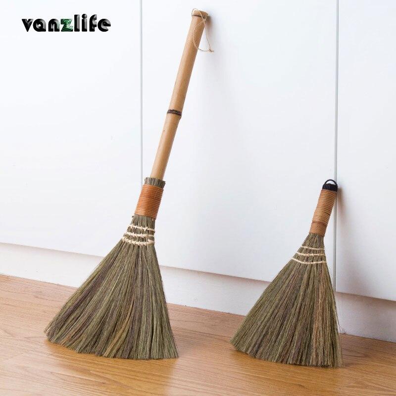 vanzlife wood floor sweeping broom hair fur household floor cleaning tool.