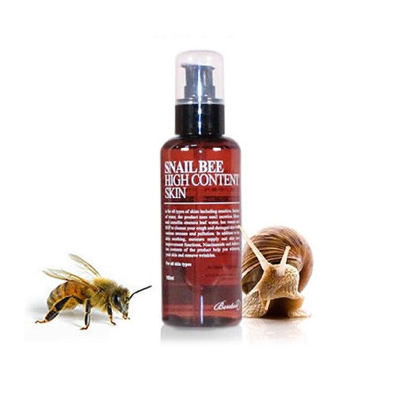 BENTON Snail Bee High Content Skin 150ml Face Skin Care Facial Cream Snail Cream Moisturizing Whitening Anti Wrinkle Face Cream  benton fermentation essence 100ml wrinkle improvement korea cosmetic