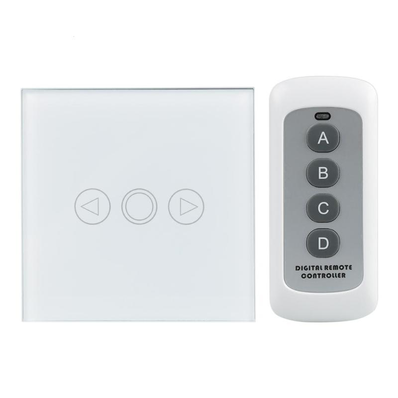 86 EU Plug 433MHz RF Light Switch 3 Gang Waterproof Glass Panel Touch Screen Wall Light Switch With Remote Control 110~240V AC us model 2 gang remote switch touch glass screen light switch with remote control function 433mhz ac110 240v