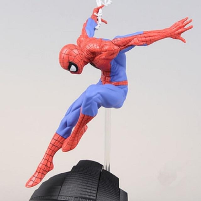 Disney brinquedos para as crianças de Cinco Estrelas Anime Marvel Spiderman Herói Homem-Aranha Estilista X Foto Casa Encaixotado 2 estilo escolher 15 cm alta