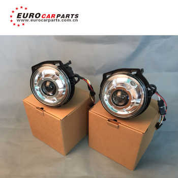 G class w463 black and sliver color OEM style year LED headlight
