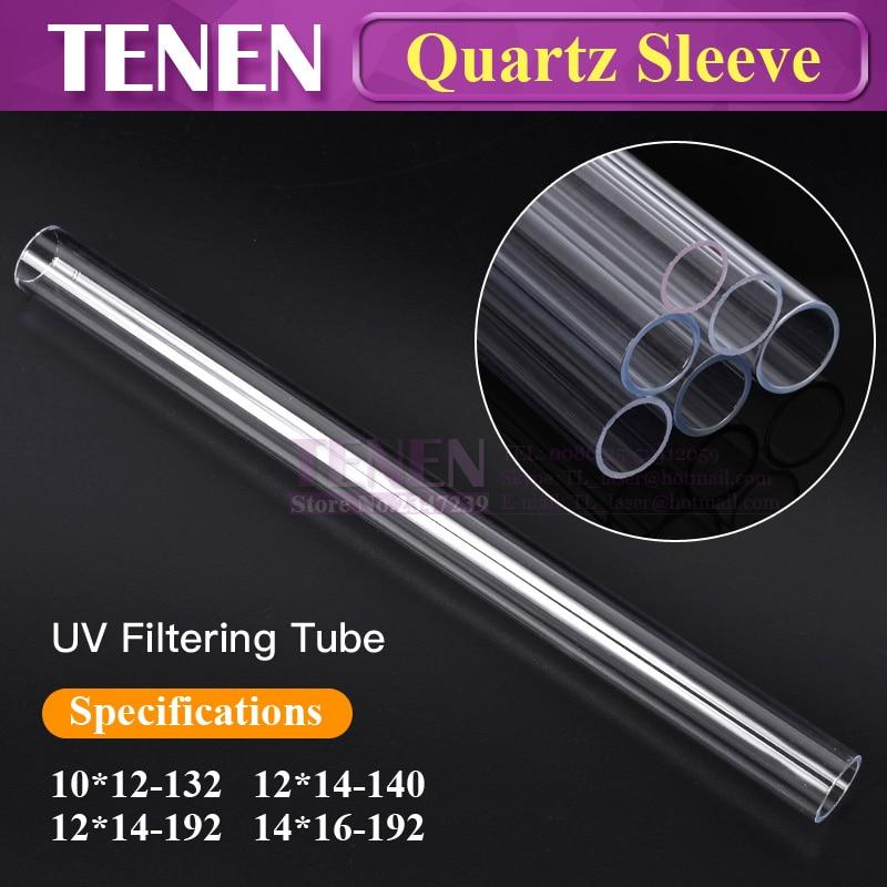 Aliexpress Com Buy Quartz Sleeve Uv Filtering Glass Tube