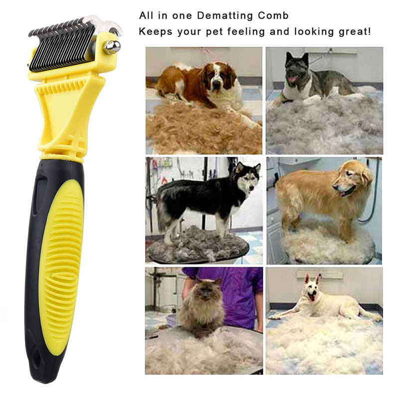 All In One Dog Grooming Brush