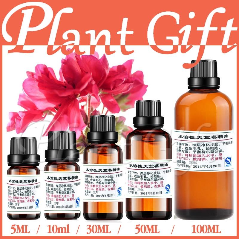 100% pur ulei vegetal solubil în apă solubilă ulei de geranium Aromaterapie baie dedicată Îndepărtează durerea Acnee Curățați pielea Relaxați-vă