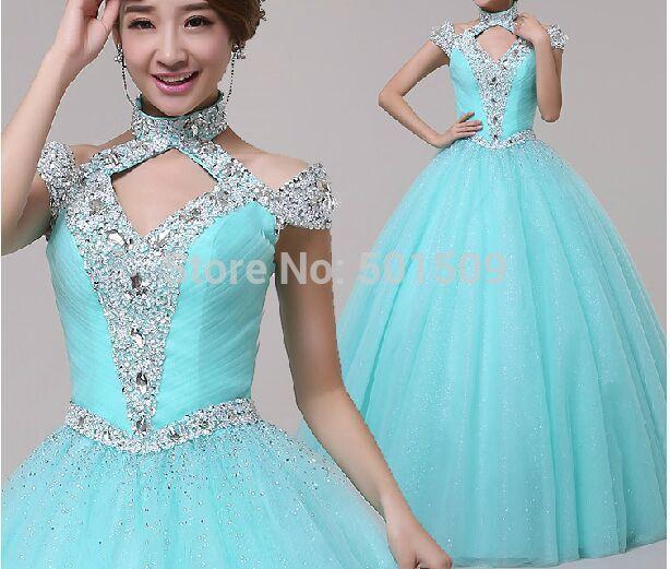 light blue sequins beading rhinstone medieval dress Renaissance lace ...