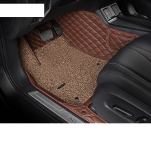 Lsrtw2017 PET Fiber Polyester Car Interior Anti-slip Foot Mat for Acura RDX 2019