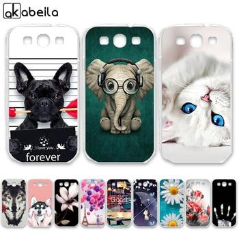 цена на AKABEILA Soft TPU  Cases For Samsung I9300 Galaxy S III LTE S3 I9305 I9308 I747 T999 GT-I9300 GT-I9301 S3 Neo Covers Bags