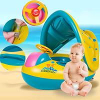 Summer Baby Swimming Ring Kids Inflatable Swim Pool Accessaries Portable Swim Float Water Fun Pool Toys For Water Sport