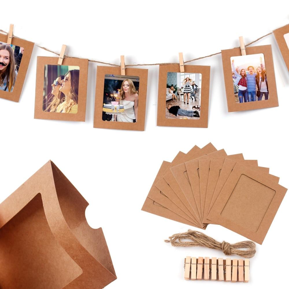 FENGRISE 10 stücke Bilderrahmen Fotorahmen Bilderrahmen für Bild ...