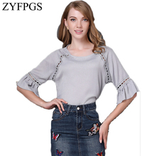 ZYFPGS Skirt Women Plus Size Casual Natural Waist Denim Skirts Pencil Patchwork Stretch Slim Hip Jean Fashion 2019 L0505