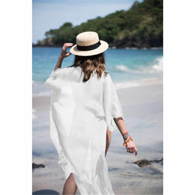 Vestito Dalla Spiaggia di estate Delle Donne di Lavoro A Maglia Asciugamano Cardigan Nappa Beach Cover Up 2019 Spiaggia Tunica Signora Kaftano Tovagliolo di Spiaggia Della Sciarpa Lunga scialle
