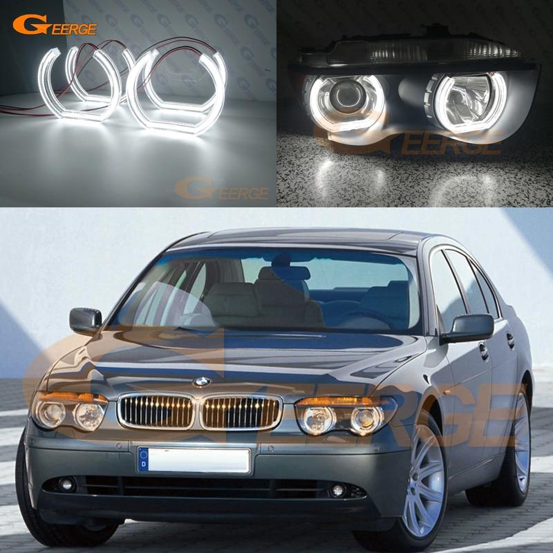 For BMW E65 E66 745i 745Li 760Li 760i 2002 2003 2004 2005 HEADLIGHT Excellent DTM Style Ultra bright led Angel Eyes kit metal parking brake gear actuator repair kit for bmw e65 e66 745i 750i 760i li 40teeth