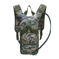 Tactical Hydration Backpack Molle Military Outdoor Camping Hiking Camelback Nylon Camel Water Bladder Bags For Cycling traveling
